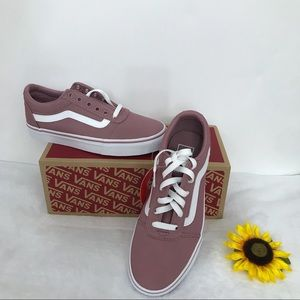 Vans Canvas Skate Shoes Rose Pink Size 7.5